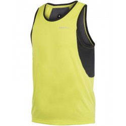 Camiseta Performance Run Singlet hombre Craft