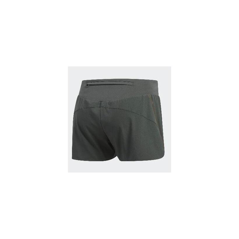 Pantalón corto Adidas Saturday Short running Mujer Verde oscuro PV19
