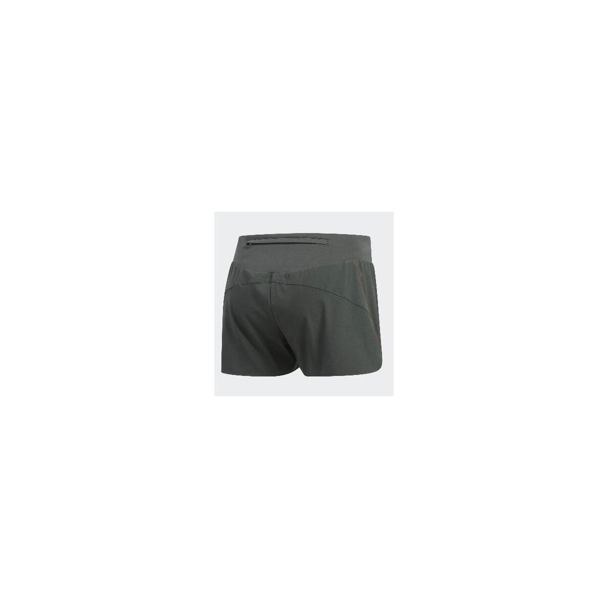 ee67454dbe Pantalón corto Adidas Saturday Short running Mujer Verde oscuro PV19 ...