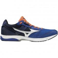 3fec1b20ffd Zapatillas Mizuno Wave Emperor 2 Hombre PV19 Azul Negro Naranja