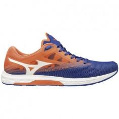 d6a9ef07fa0 Zapatillas Mizuno Wave Sonic 2 Azul Naranja PV19