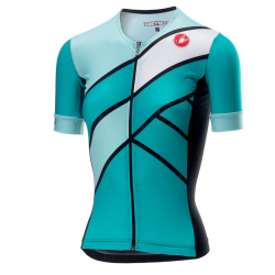 Maillot Castelli FREE SPEED Mujer Turquesa Verde