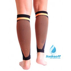 Medilast NRG Triathlon Calf Sleeves Black-Orange