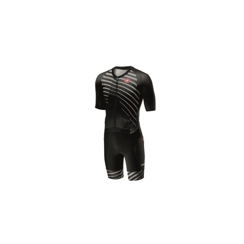 Castelli All Out Speed Suit - Triatlon Negro