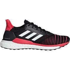 best service 939ac 2e5ee Zapatillas Adidas Solar Glide PV19 Negro Rojo Hombre
