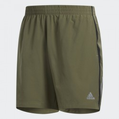 Pantalón corto Adidas Run SH Verde