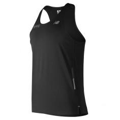 Camiseta New Balance running Hombre Maraton de Londres Negra