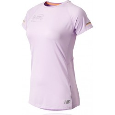 Camiseta New Balance Ice 2.0 SS Mujer Maratón Londres Violeta
