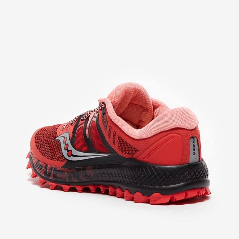 saucony trail mujer rojas