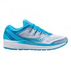 Zapatillas Saucony Guide Iso 2 Azul blanco Mujer