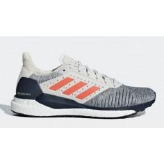 Zapatillas Adidas Solar Glide ST Blanco Rojo Azul PV19
