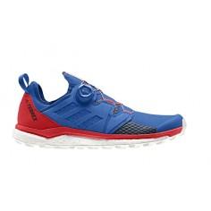 Zapatillas Trail Adidas Terrex Agravic Boa Azul Rojo PV19
