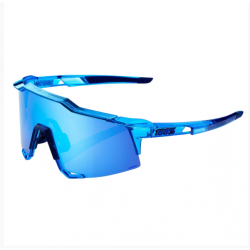 Gafas 100% Speedcraft - Polished Translucent Crystal Blue