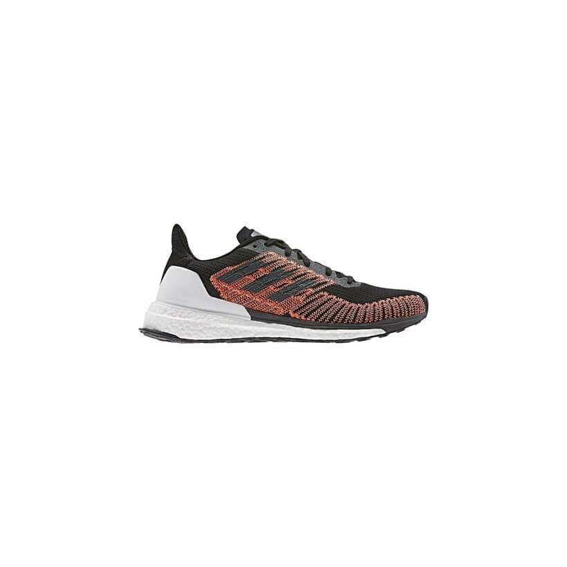 Zapatillas Adidas Solar Boost ST 19 Negro Naranja Blanco OI19 - 365 Rider