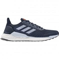 Zapatillas Adidas Solar Boost 19 Azul Marino Blanco Naranja OI19