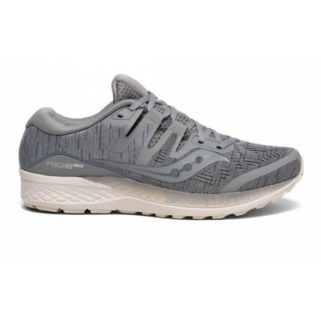 Saucony Ride ISO Men's Running Shoes Grey Shade 365 Rider