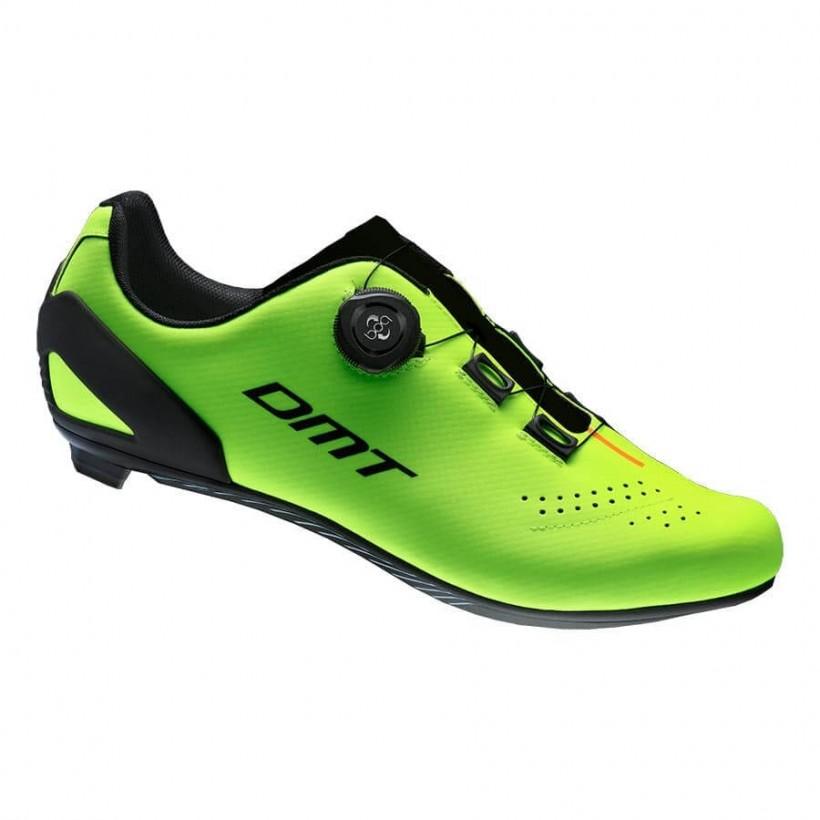 Zapatillas DMT D5 amarillo flúor para carretera