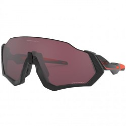 Gafas Oakley Flight Jacket - Ignite Collection - Matte Black Orange Prizm Road Black