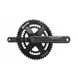 Rotor Road Cranks with INpower DM Road Power Meter