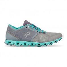 ON Cloud X Gray Atlantis Women's Shoes PV19