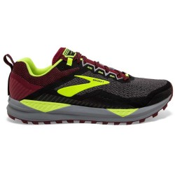 Zapatillas Brooks Cascadia 14 Negro Granate Amarillo OI19