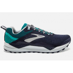 Zapatillas Brooks Cascadia 14 Azul Verde OI19