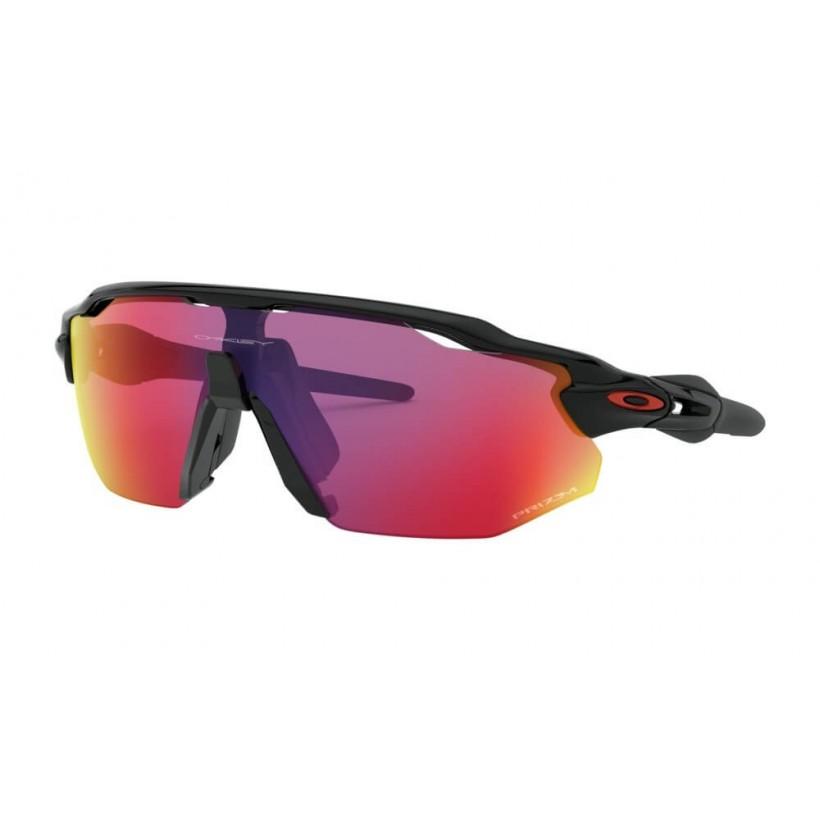 Gafas Ciclismo Oakley Radar Ev Advancer Negro Brillante Prizm Black Polarized