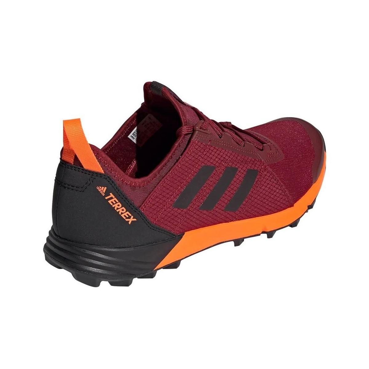 zapatillas adidas hombre granate