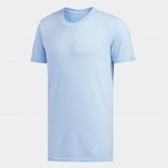 Camiseta Running Adidas 24/7 Azul Claro Hombre