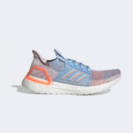 Español creer Tacto  Adidas Ultra Boost 19 Coral Blue AW19 Women's Shoes
