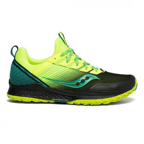 newest 77447 2d38c Zapatillas de Trail Saucony Mad River TR Negro Amarillo OI19 - 365 Rider