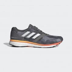 Zapatillas Adidas Adizero Adios 4 Gris Camuflaje Naranja OI19