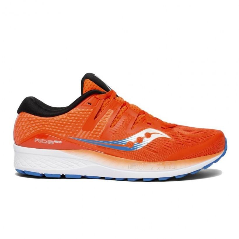 Saucony Ride ISO Men's Running Shoes Orange
