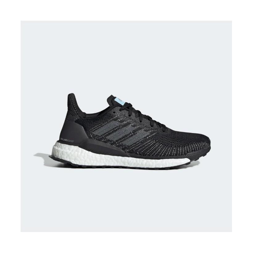 precio favorable mujer estilos frescos Adidas Solar Boost 19 Women's Running Shoes Black Grey AW19