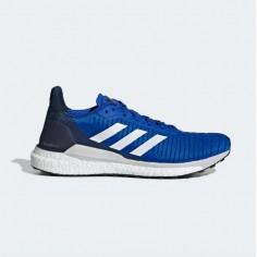 Zapatillas Adidas Solar Glide 19 Azul Blanco OI19 Hombre