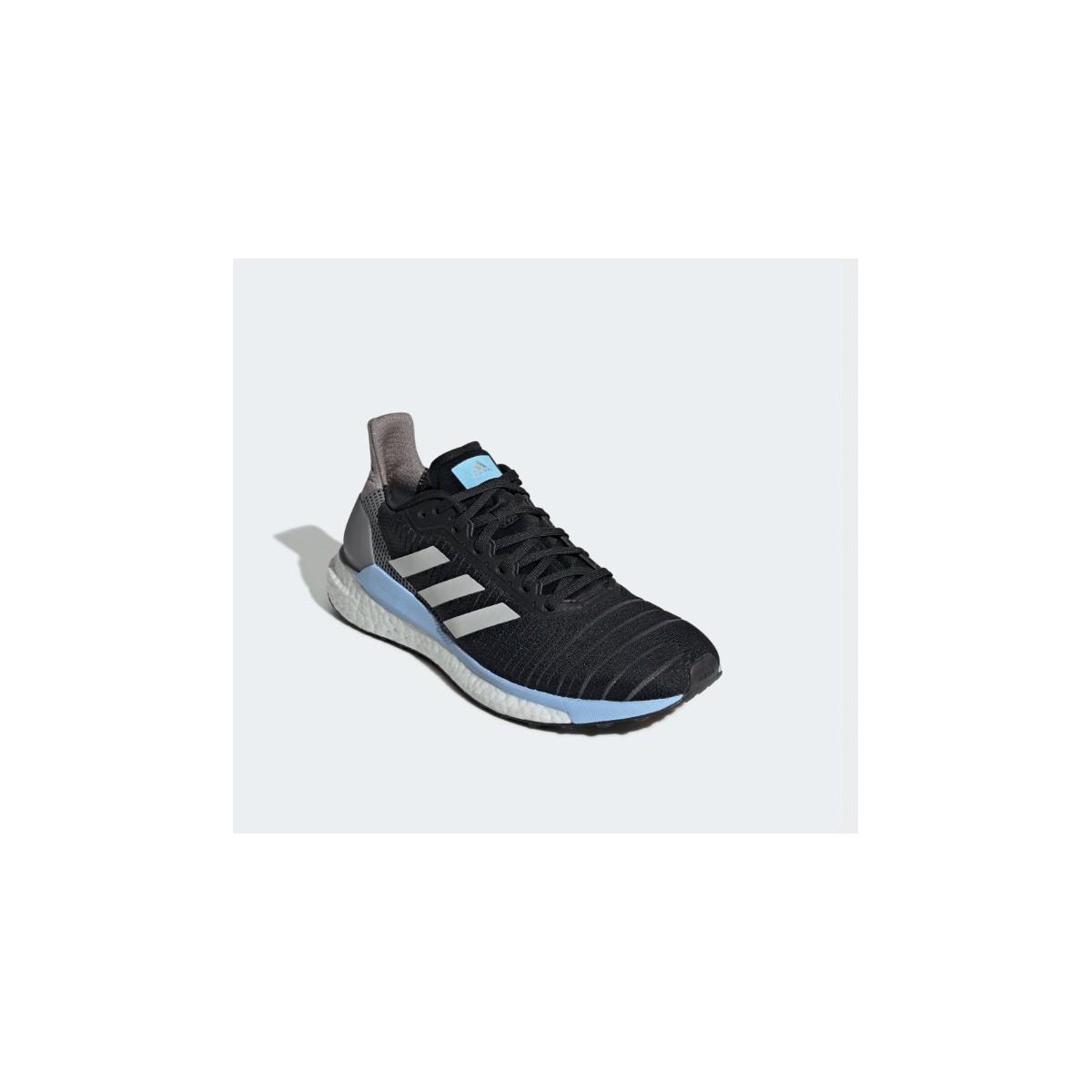 Zapatillas Adidas Solar Boost 19 Negro Gris OI19 Mujer