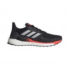 Zapatillas Adidas Solar Boost 19 Negro Rojo OI19 Hombre