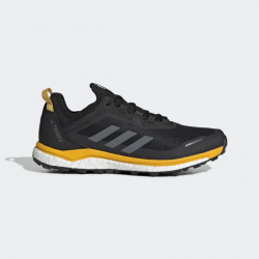 Zapatillas Trail Adidas Terrex Agravic Flow Negro Amarillo OI19 Hombre
