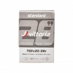 Cámara Vittoria 700 Standard (20/28C) obús desmontable Válvula Presta 48 mm