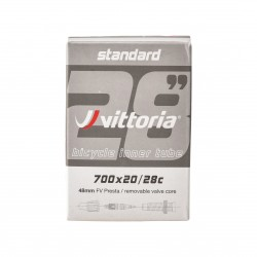 Cámara Vittoria STANDARD 700x20/28c Válvula 48 mm