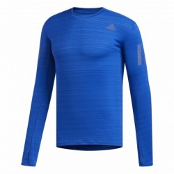 Camiseta Running Adidas Rise Up N Run Azul OI19 Hombre