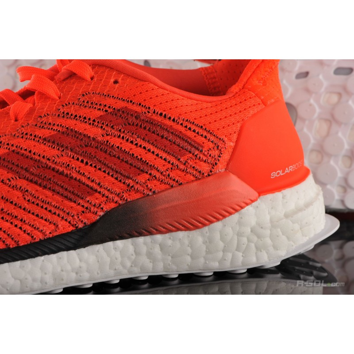 Puntero Un fiel Discutir  Adidas Solar Boost 19 Men's Running Shoes Orange AW19