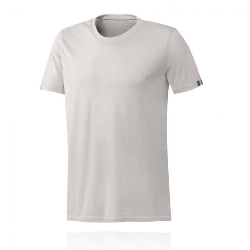 Camiseta Adidas 25/7 TEE M de manga corta Blanco PV19 Hombre
