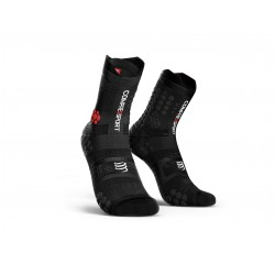 Calcetines Trail Compressport Pro V3 Negro