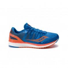 Zapatillas Saucony Liberty ISO Azul Naranja