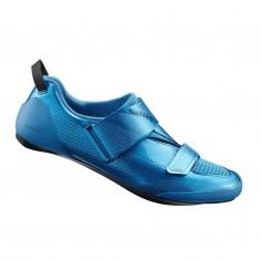 Zapatillas Triatlón Shimano TR9 Azul con suela de Carbono