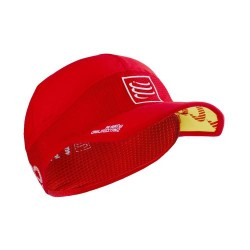 Gorra Compressport Pro Racing Ultralight Rojo