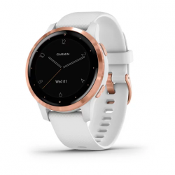 Garmin Vivoactive 4S White with Rose-gold Hardware