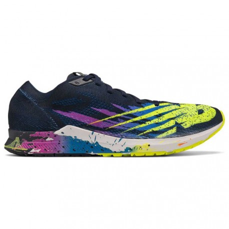 Últimas tendencias precios grandiosos captura New Balance 1500 V6 New York Marathon Women's Running Shoes Blue Yellow