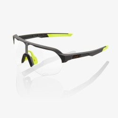 Gafas 100% S2 Soft Tact Cool Gris - Lente Fotocromática